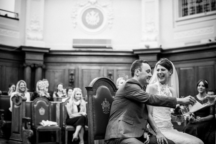 quirky wedding photography