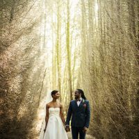 Anisa + Damien // Narborough Hall Gardens