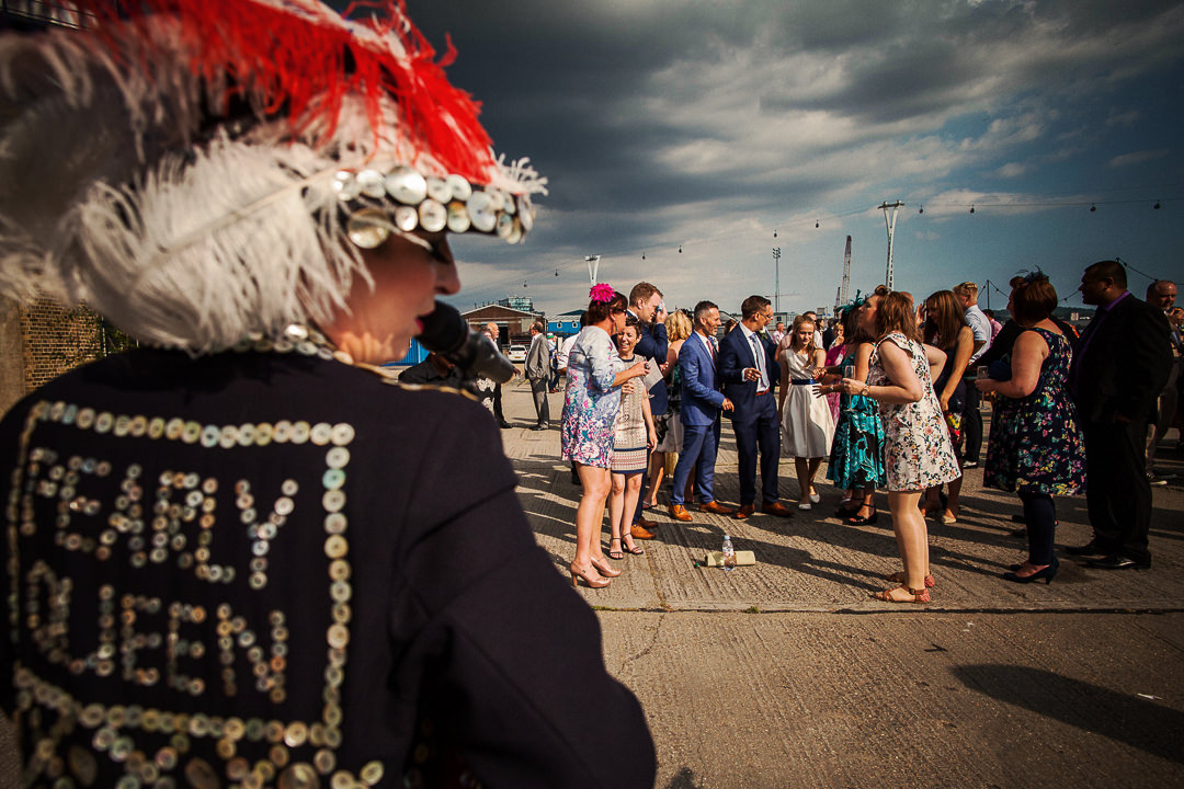 Trinity Buoy Wharf Wedding Photography-31