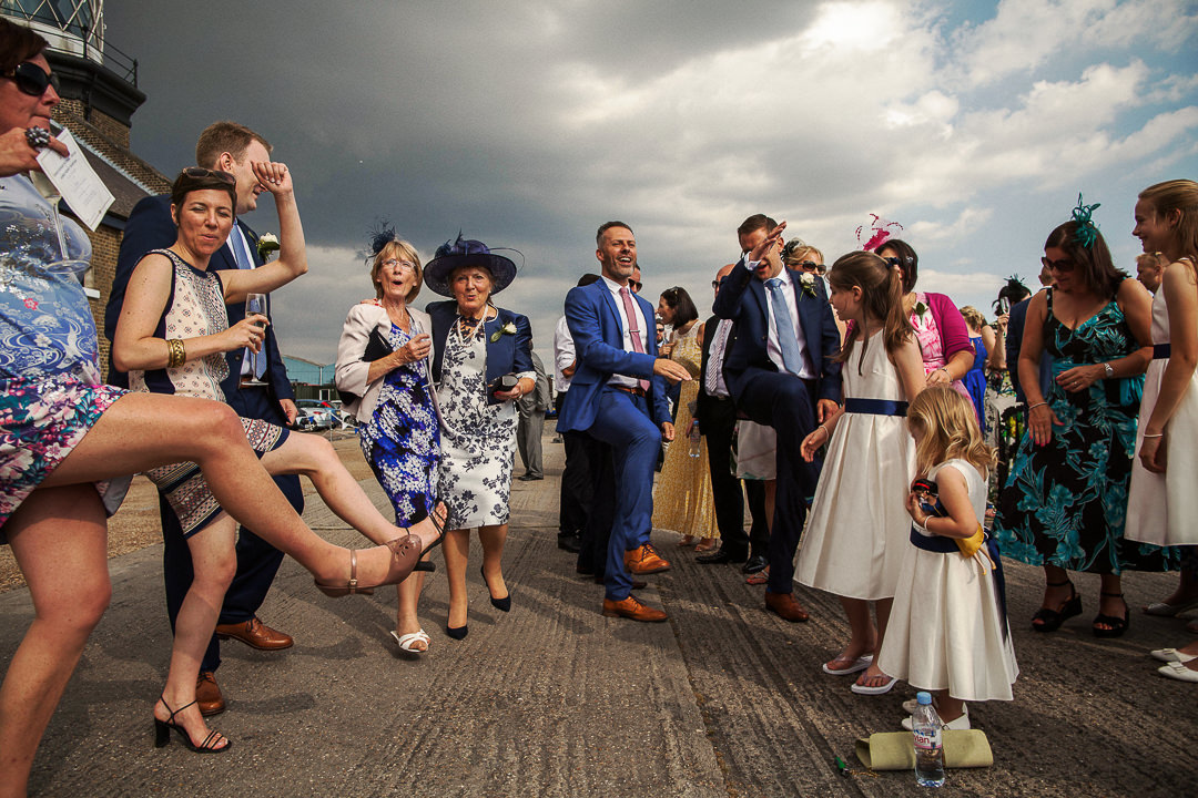 Trinity Buoy Wharf Wedding Photography-32