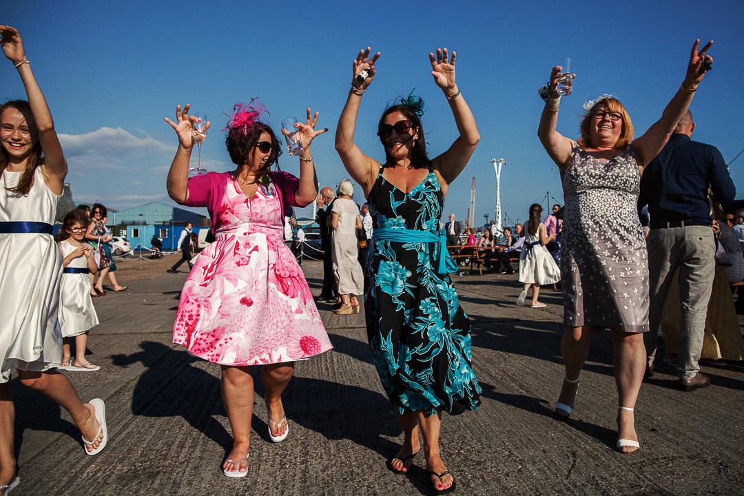 Trinity Buoy Wharf Wedding Photography-36
