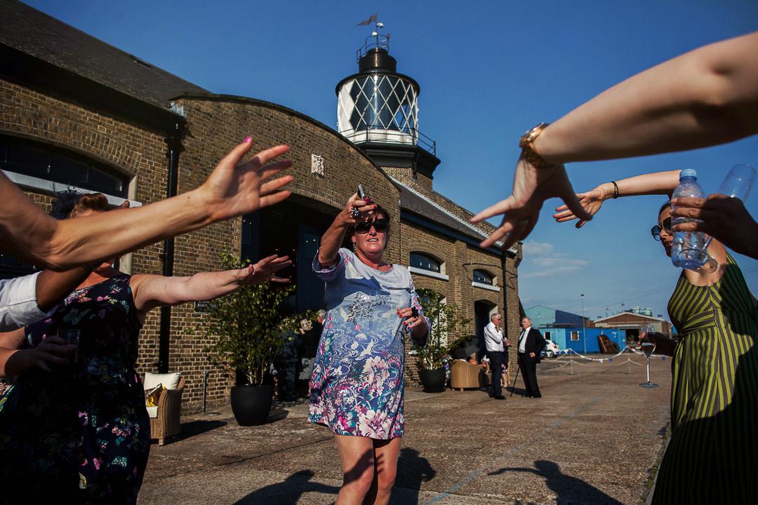 Trinity Buoy Wharf Wedding Photography-39