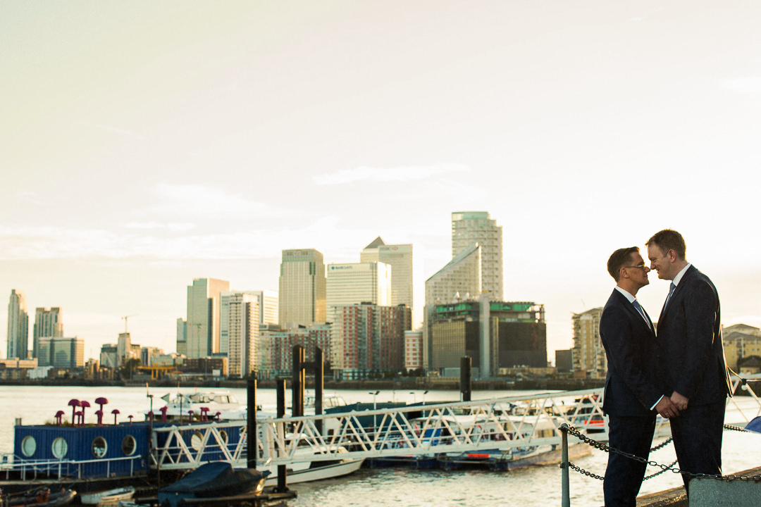 Trinity Buoy Wharf Wedding Photography-45