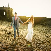 Alix + Mark // The East Quay // Whitstable