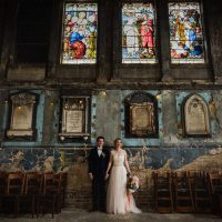 A Destination Wedding at The Asylum Chapel