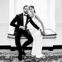 A Stylish Black Tie Wedding At The Ned