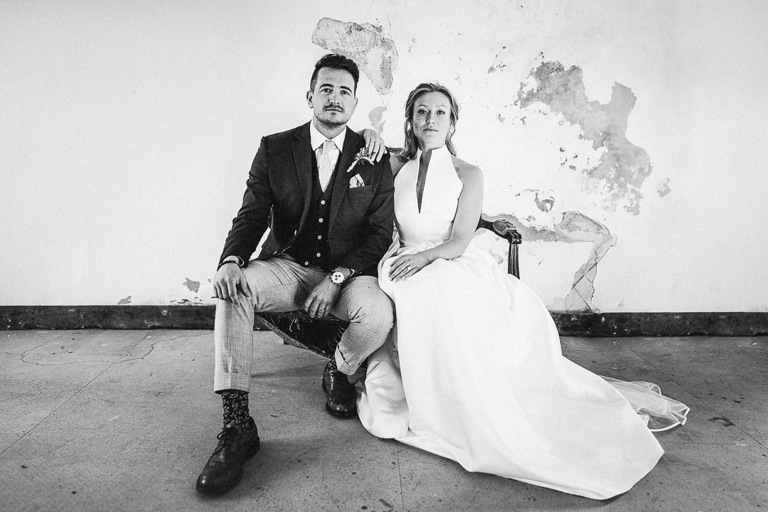 alternative wedding portrait at lillibrooke manor
