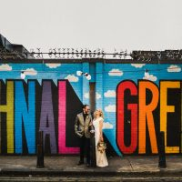 A Glamorous Rock N Roll London Wedding
